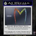 Speed Racer Mach5 Logo Decal Sticker Spectrum Vinyl 120x120