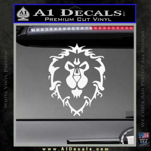 World Of Warcraft Alliance Decal Sticker 187 A1 Decals