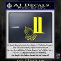 9 11 Prayer Hands Decal Sticker Yellow Laptop 120x120