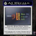 911 Was An Inside Job 9 11 Decal Sticker 911 Glitter Sparkle 120x120