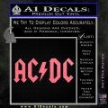 ACDC Rock Decal Pink Emblem 120x120