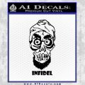 Achmed Infidel Decal Sticker Black Vinyl 120x120