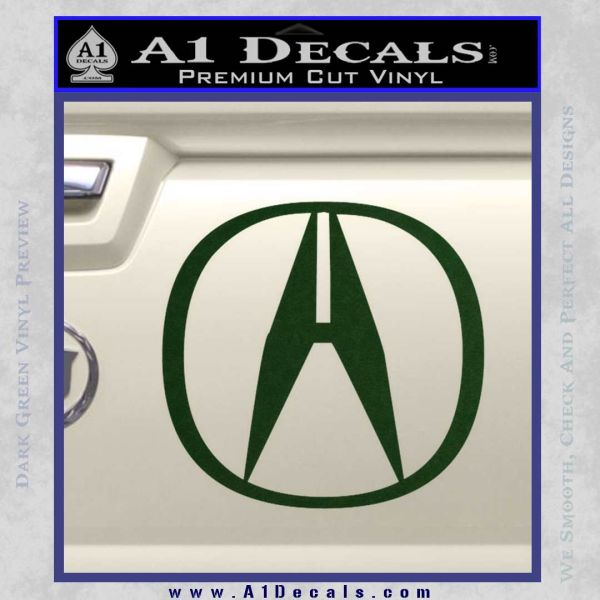 Acura Emblem Logo Decal Sticker A Decals - Acura decals