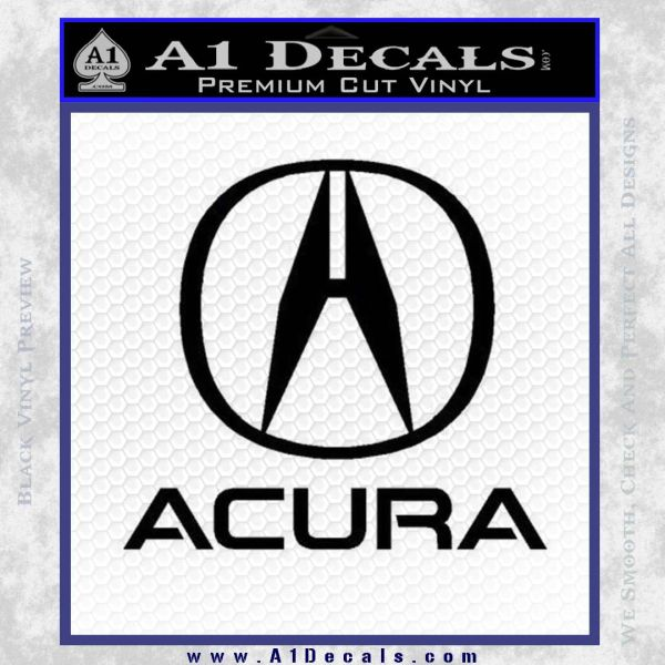 Acura Full Decal Sticker A Decals - Acura decals