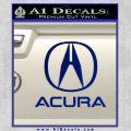 Acura Full Decal Sticker Blue Vinyl 120x120