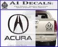 Acura Full Decal Sticker Carbon FIber Black Vinyl 120x97