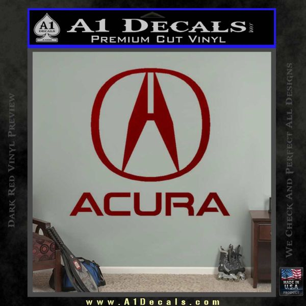 Acura Full Decal Sticker » A1 Decals