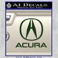 Acura Full Decal Sticker Dark Green Vinyl 120x120