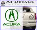Acura Full Decal Sticker Green Vinyl Logo 120x97