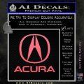 Acura Full Decal Sticker Pink Emblem 120x120