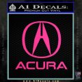 Acura Full Decal Sticker Pink Hot Vinyl 120x120