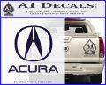 Acura Full Decal Sticker PurpleEmblem Logo 120x97