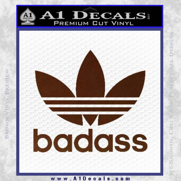 Adidas Badass D1 Decal Sticker A1 Decals