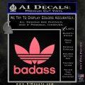 Adidas Badass D1 Decal Sticker Pink Emblem 120x120