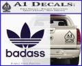 Adidas Badass D1 Decal Sticker PurpleEmblem Logo 120x97