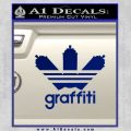 Adidas Graffiti D1 Decal Sticker Blue Vinyl 120x120