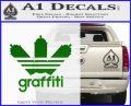 Adidas Graffiti D1 Decal Sticker Green Vinyl Logo 120x97
