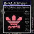 Adidas Graffiti D1 Decal Sticker Pink Emblem 120x120