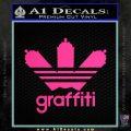 Adidas Graffiti D1 Decal Sticker Pink Hot Vinyl 120x120
