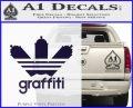 Adidas Graffiti D1 Decal Sticker PurpleEmblem Logo 120x97