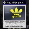 Adidas Graffiti D1 Decal Sticker Yellow Laptop 120x120