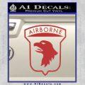 Airborne Aireborne Military Decal Sticker Red 120x120