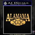Alabama Flag Decal Sticker Rebel Oval 15 120x120