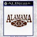 Alabama Flag Decal Sticker Rebel Oval 19 120x120