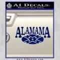 Alabama Flag Decal Sticker Rebel Oval 20 120x120