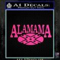 Alabama Flag Decal Sticker Rebel Oval 9 120x120