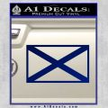 Alabama State Flag Decal Sticker Official 1 120x120