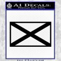 Alabama State Flag Decal Sticker Official 2 120x120