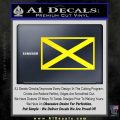 Alabama State Flag Decal Sticker Official 6 120x120