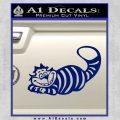 Alice In Wonderland Cheshire Cat Decal Sticker Blue Vinyl 120x120