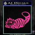 Alice In Wonderland Cheshire Cat Decal Sticker Pink Hot Vinyl 120x120
