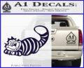 Alice In Wonderland Cheshire Cat Decal Sticker PurpleEmblem Logo 120x97