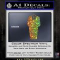 Anonymous Decal Sticker D1 Glitter Sparkle 120x120