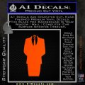 Anonymous Decal Sticker D1 Orange Emblem 120x120