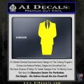 Anonymous Decal Sticker D1 Yellow Laptop 120x120