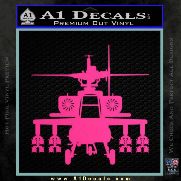 Apache Helicopter Decal Sticker 187 A1 Decals