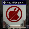 Apple Anti Decal Sticker No Mac DRD Vinyl 120x120