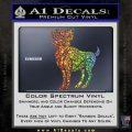 Aries Ram Zodiac Decal Sticker Glitter Sparkle 120x120