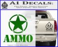 Army Ammo Star Full Decal Sticker 14 120x97