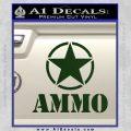 Army Ammo Star Full Decal Sticker 17 120x120