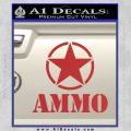 Army Ammo Star Full Decal Sticker 7 120x120