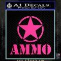 Army Ammo Star Full Decal Sticker 9 120x120