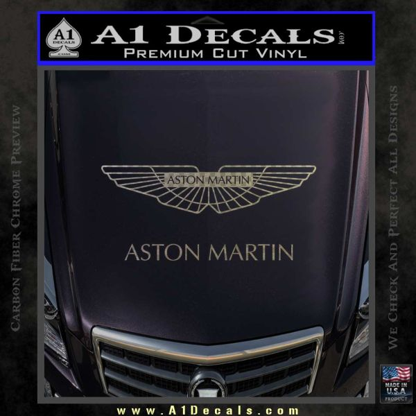 Aston Martin Logo Decal Sticker » A1 Decals