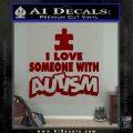 Autism Awareness Decal Sticker Puzzle DRD Vinyl 120x120