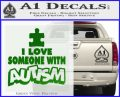 Autism Awareness Decal Sticker Puzzle Green Vinyl Logo 120x97