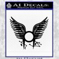 BSG Tattoo Decal Sticker Battle Star Galactica Viper Pilot D1 21 120x120